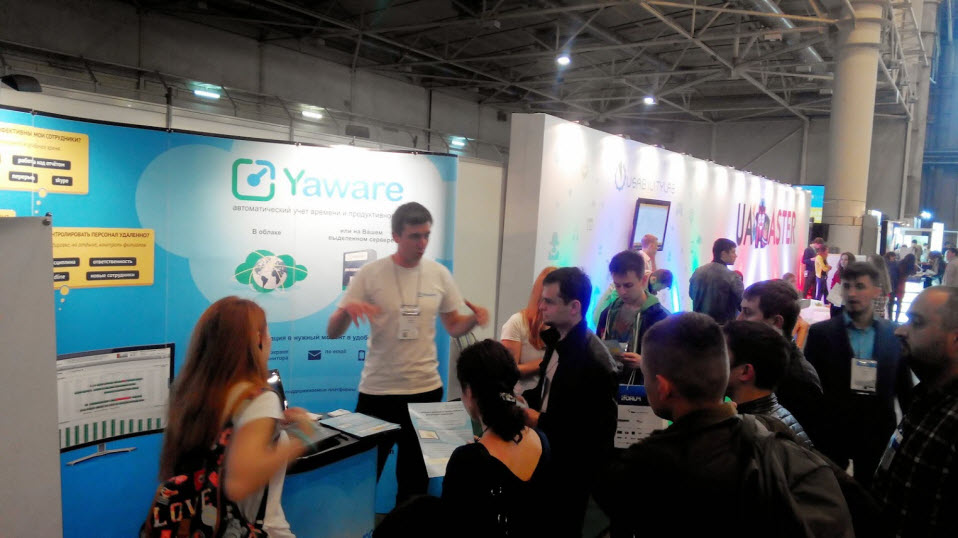 Стенд Yaware.TimeTracker на iForum 2014